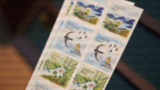 Climate Sweden Thunberg Stamp