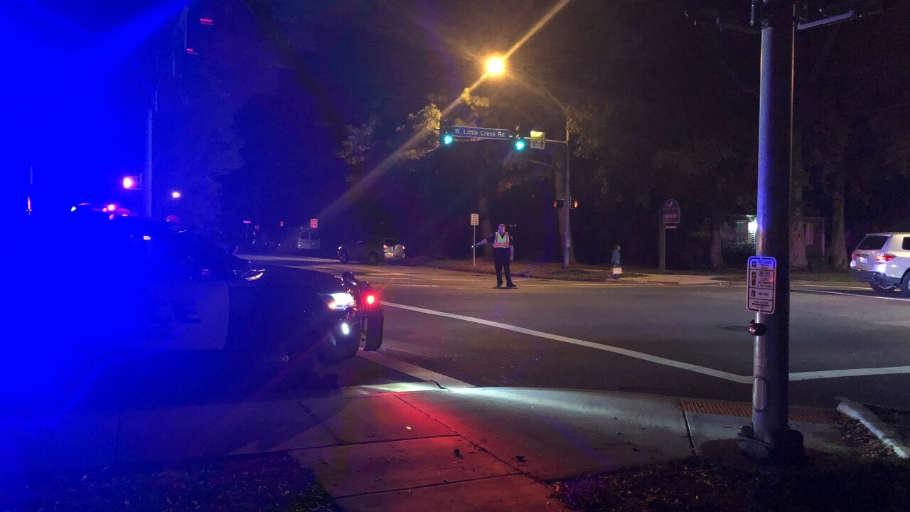 Woman critically injured after being hit by car in Norfolk