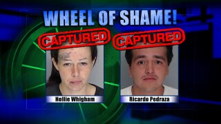 Wheel of Shame Arrests: Hollie Whigham & Ricardo Pedraza