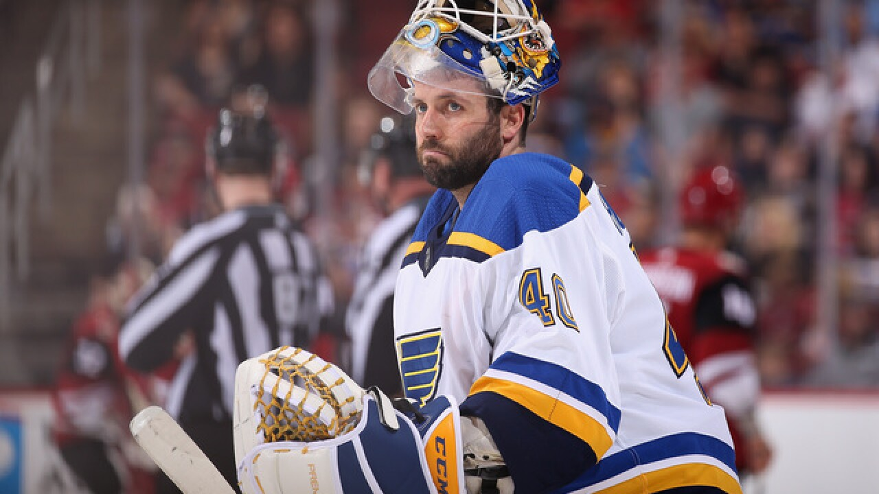 Report: Sabres front-runner to land Carter Hutton