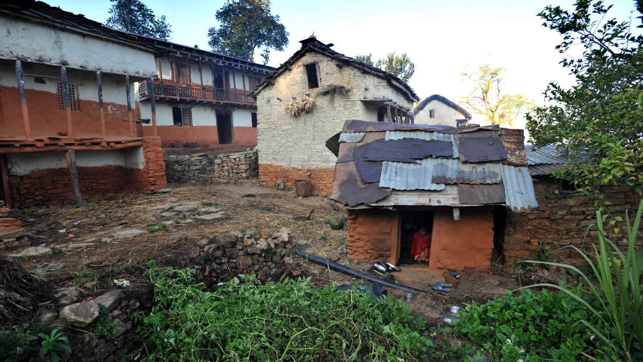 Girls in Nepal sleep in 'menstruation huts' despite ban, study finds