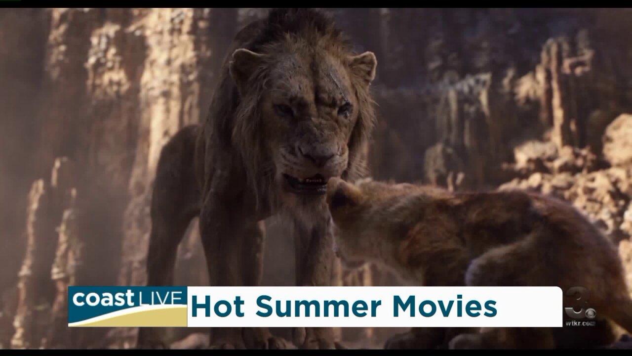 Summer movie preview with Fandago on CoastLive
