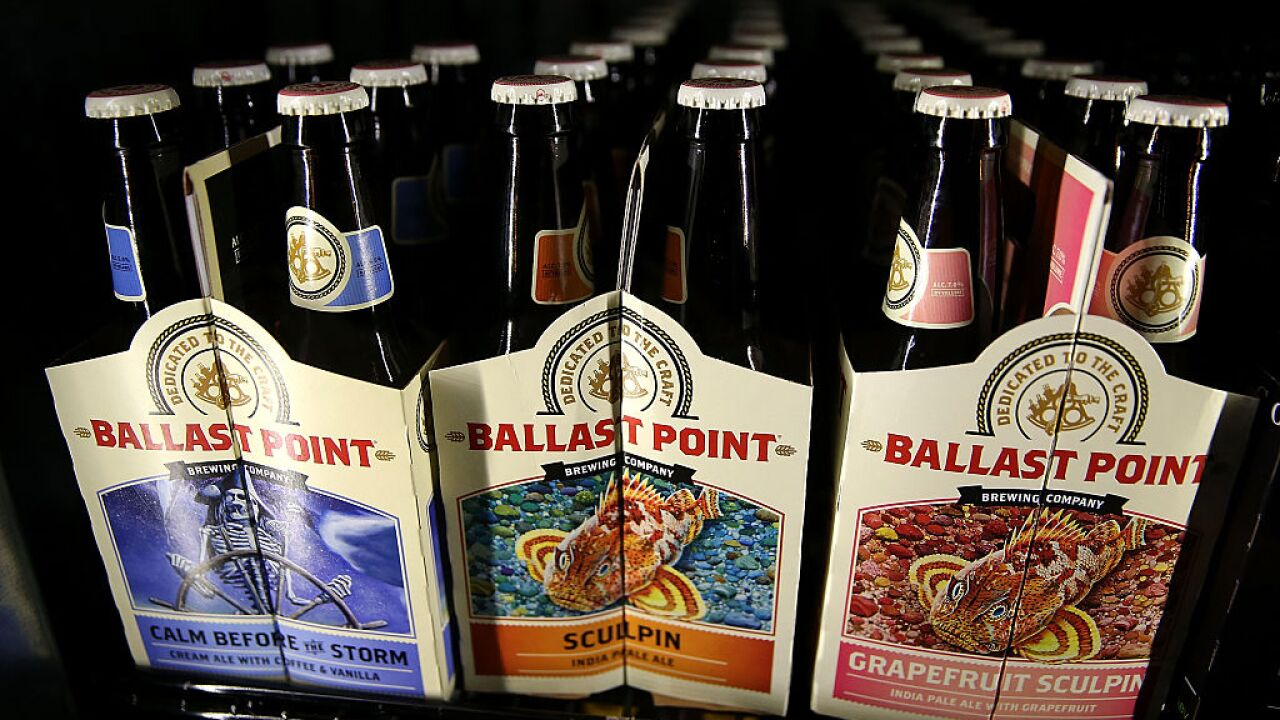 West Coast-based Ballast Point Brewing joins Va.'s craft beerroster