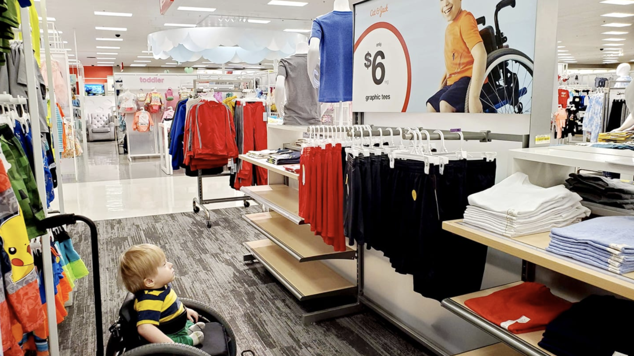 Target ad featuring child in wheelchair helps 2-year-old boy see kid 'like him'
