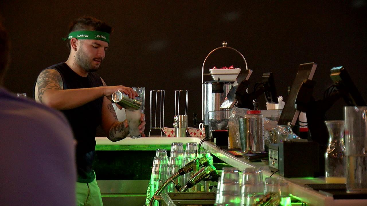X BAR bartender