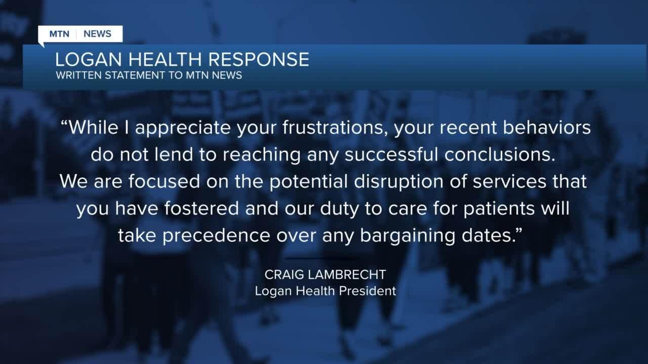 Logan Health Strike