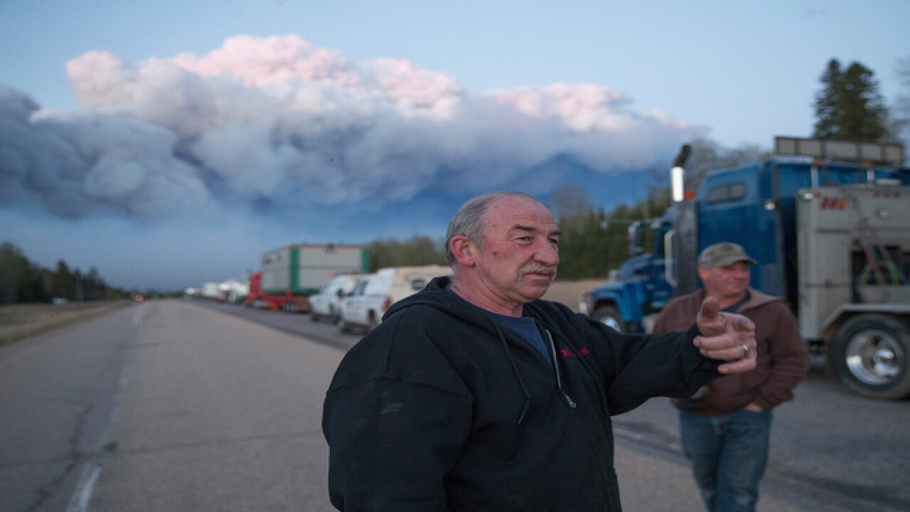 Gallery: Massive wildfire in Canada