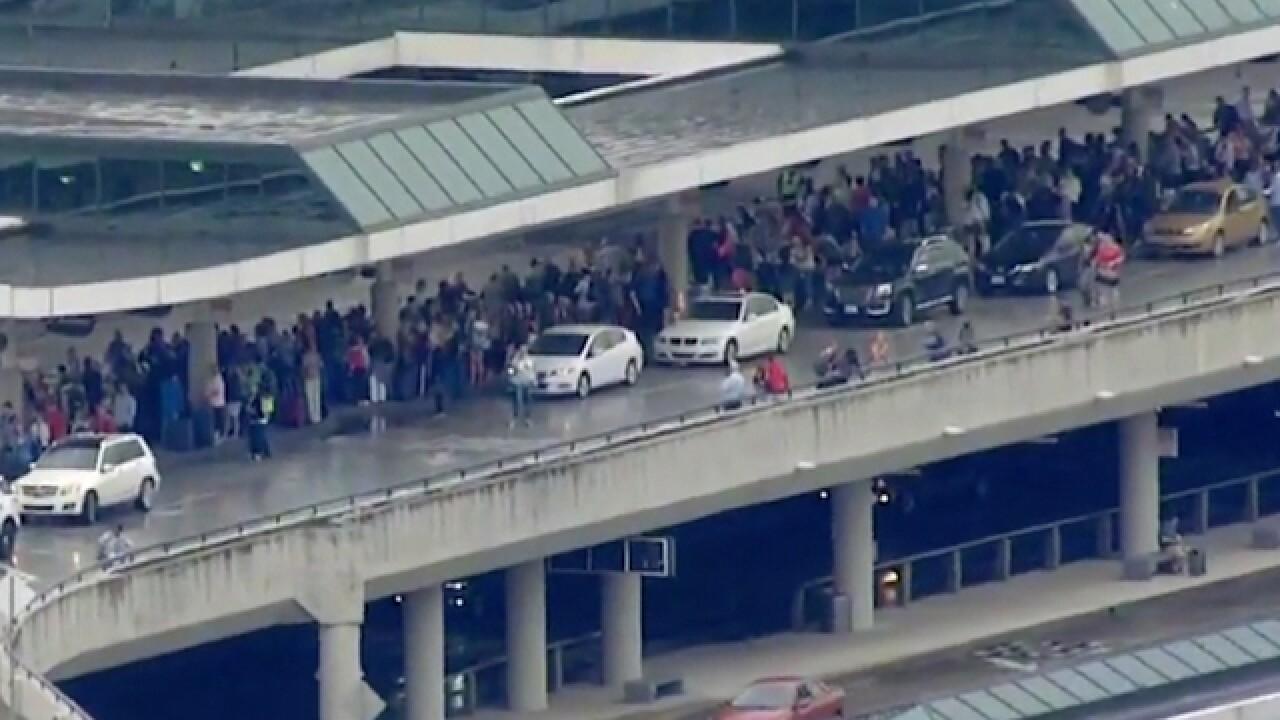 Terminal at Nashville airport evacuated