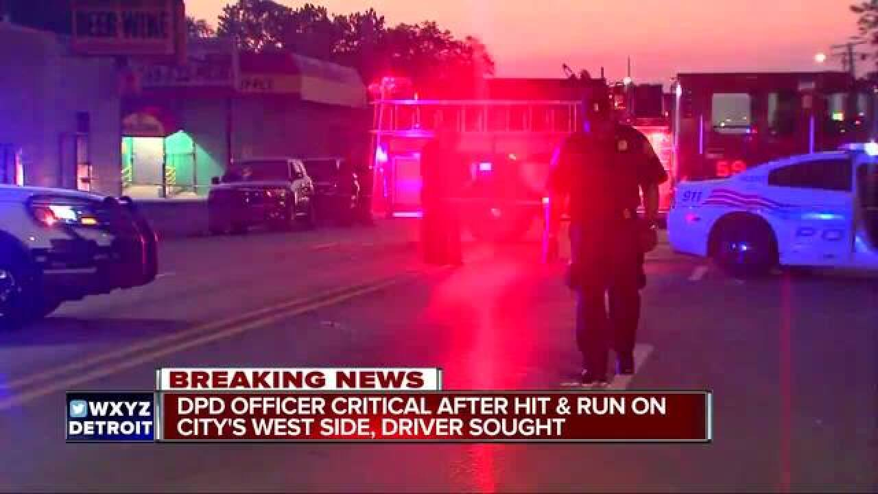 DPD Officer Injured By Hit-And-Run Driver