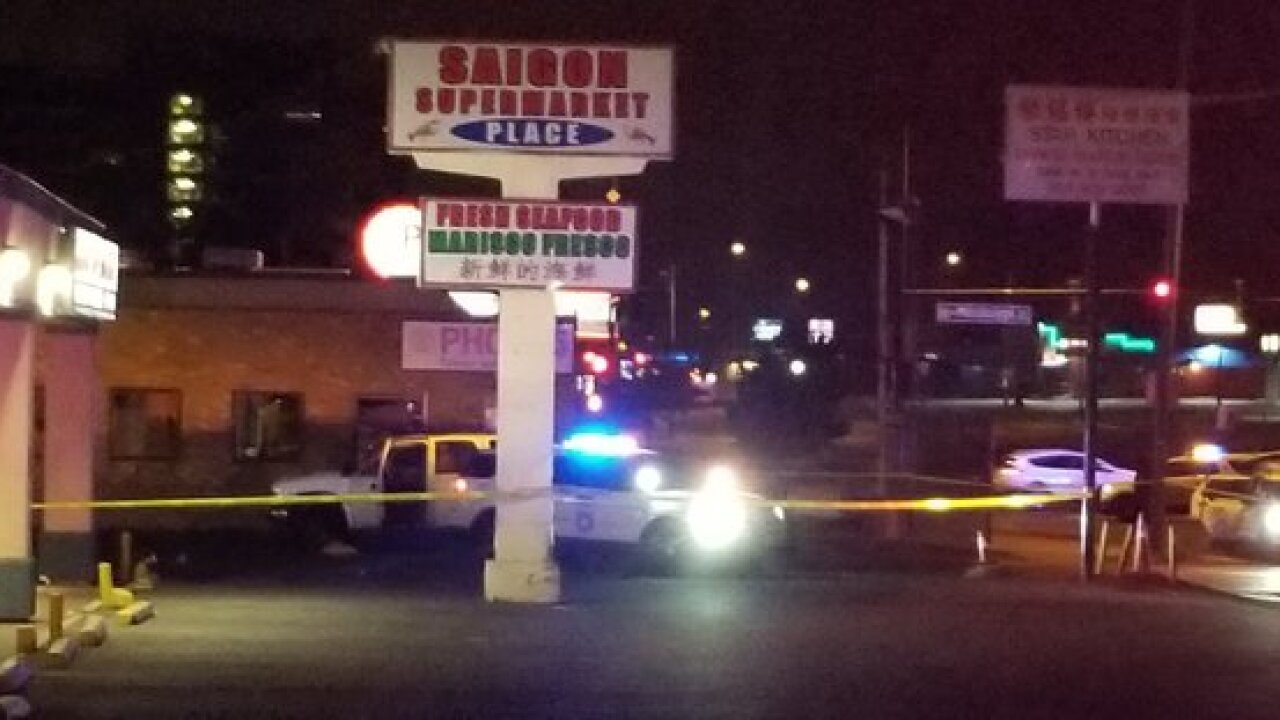 Police investigating double shooting in Denver