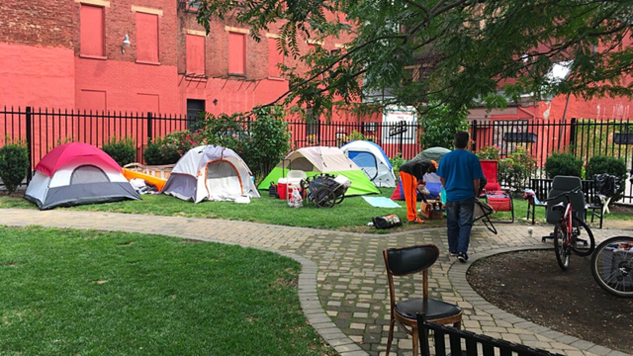 Group asks city to address problems for homeless