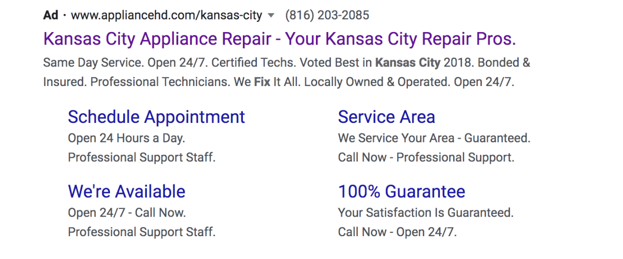 appliance hd- kansas city