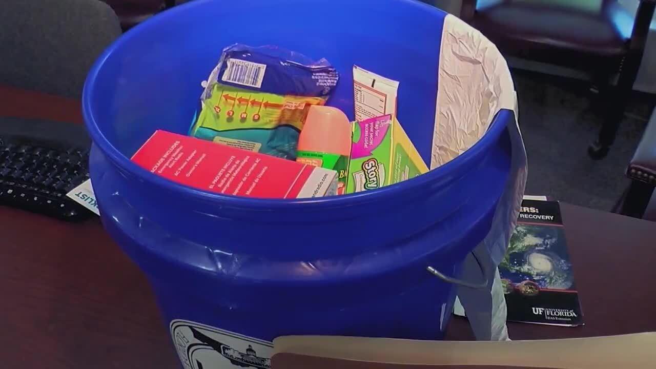 Hurricane bucket