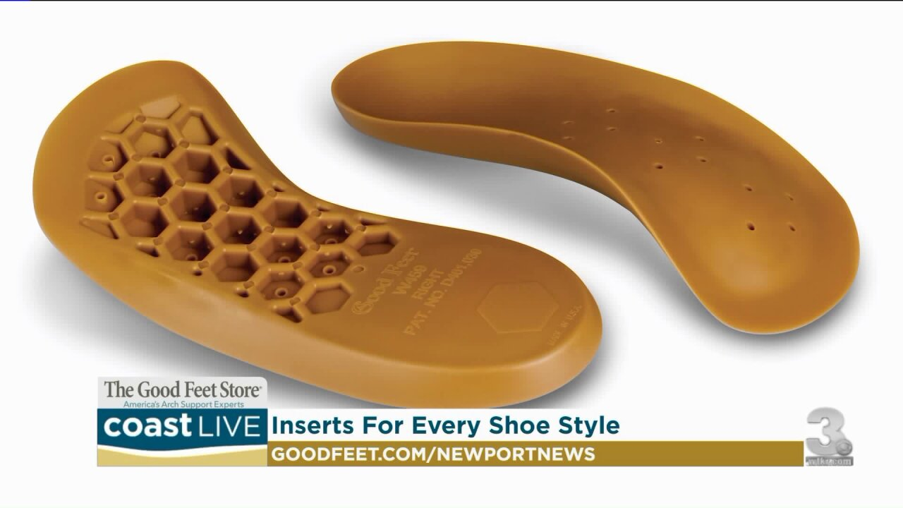 Managing foot problems with the right arch support for any shoe on CoastLive