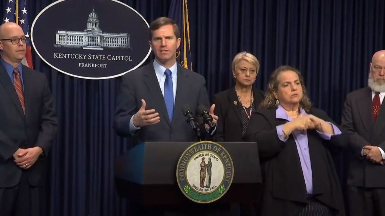 Beshear urges Kentuckians to change up routines to avoid COVID-19