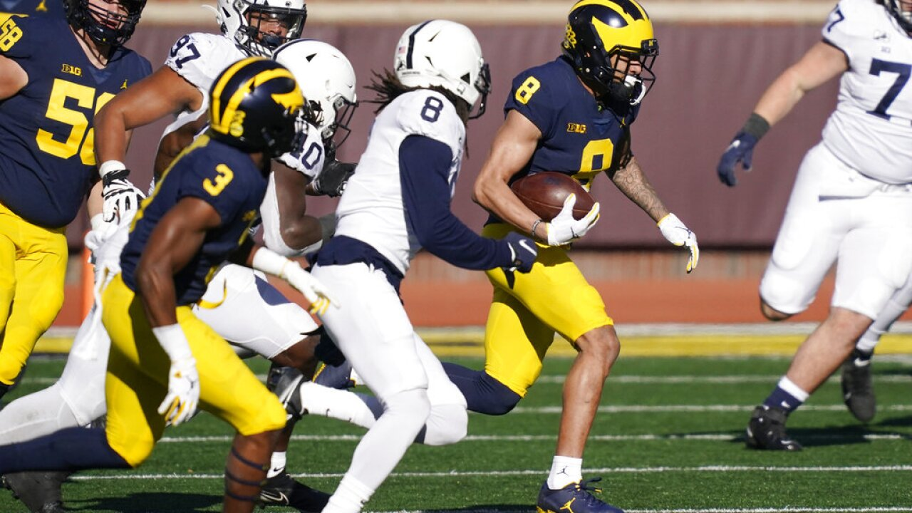 Michigan falls to winless Penn State at home, moves to 2-4 on the season