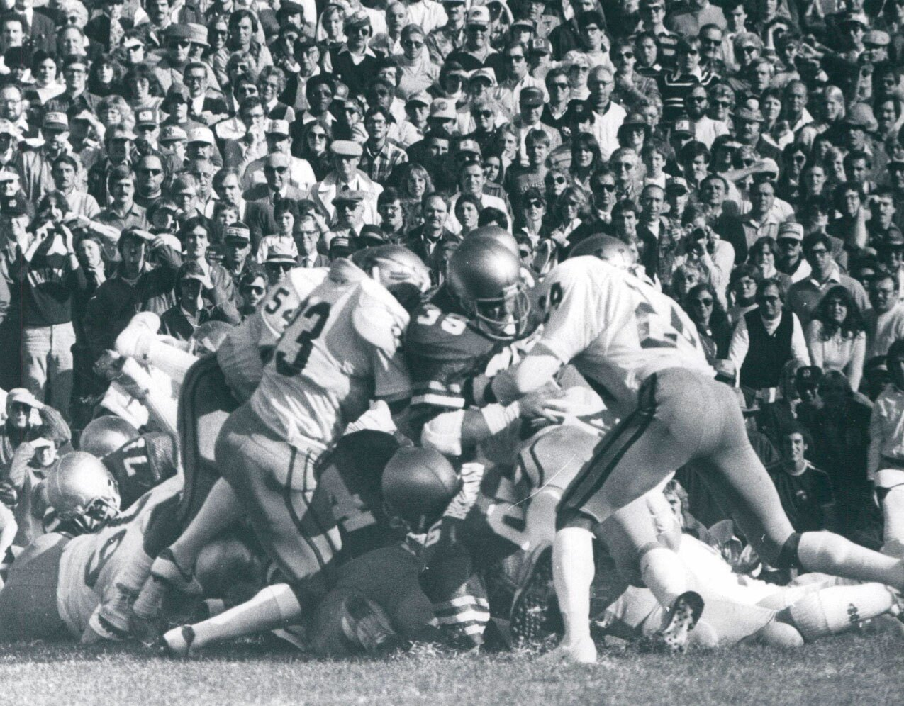 Florida State Seminoles defense stuffs Notre Dame Fighting Irish in 1981