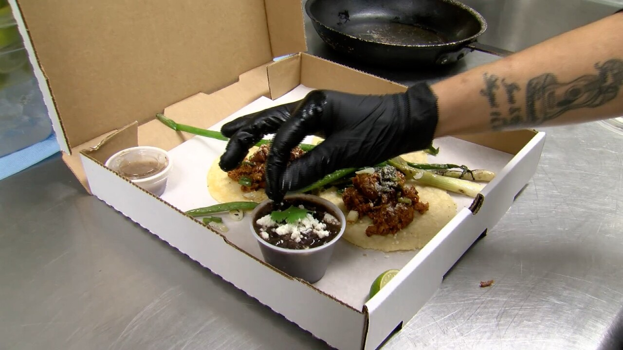 Local restaurant creates gourmet dinners-to-go