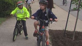 "PHOTOS: Kids celebrate National ""Bike to..."