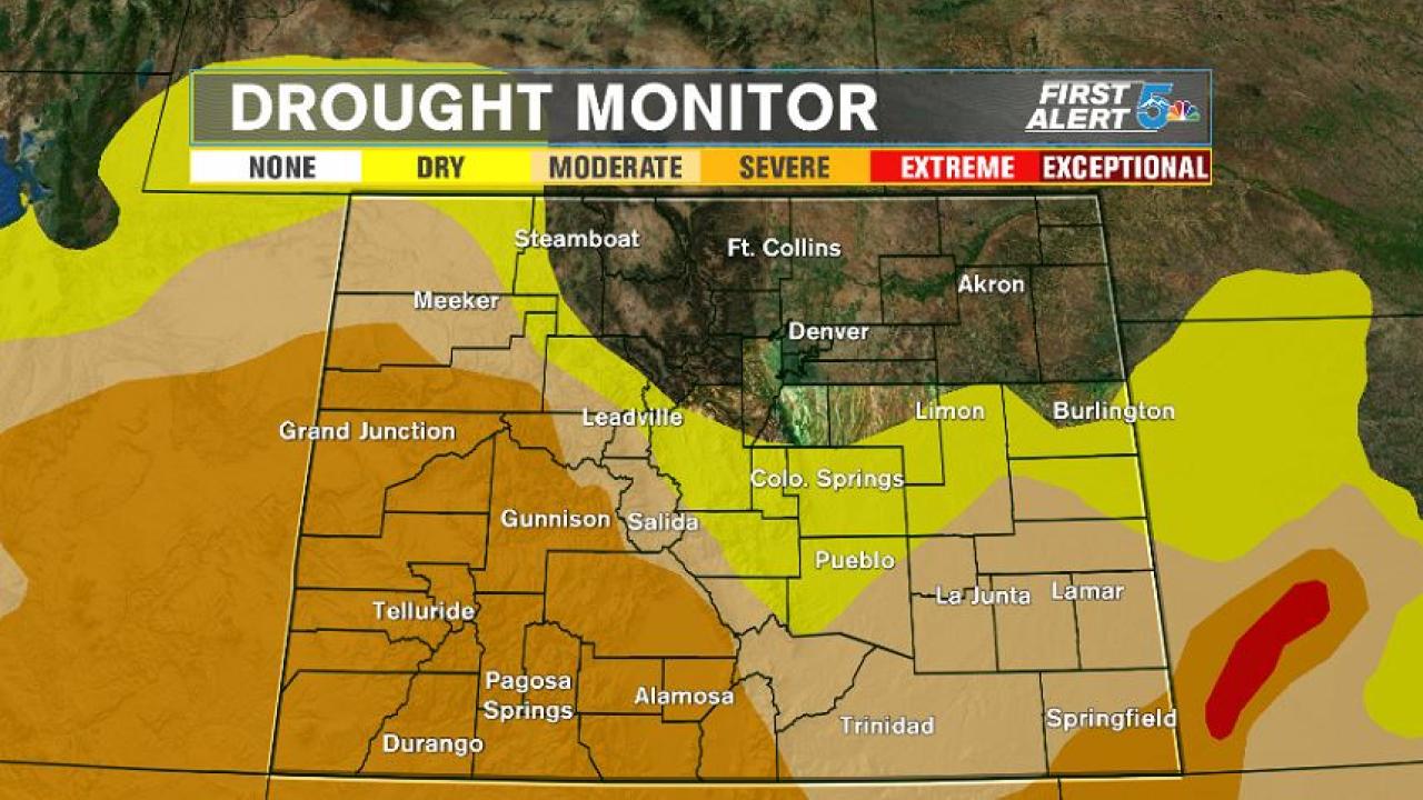 U.S. Drought Monitor - 12/3/19
