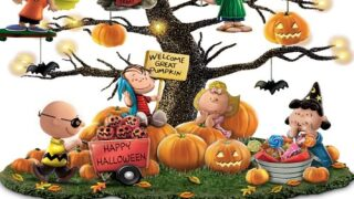 This Tabletop Halloween Tree Celebrates 'It's The Great Pumpkin, Charlie Brown'
