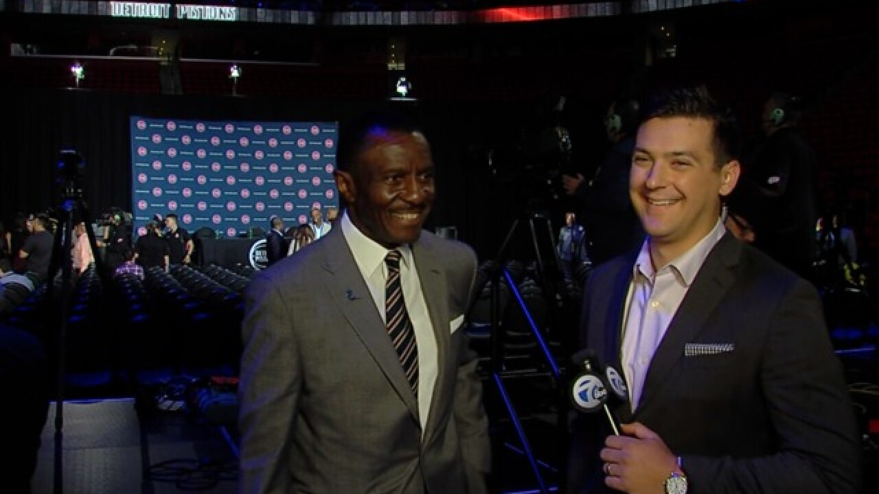 VIDEO: One-on-one with new Pistons head coach Dwane Casey