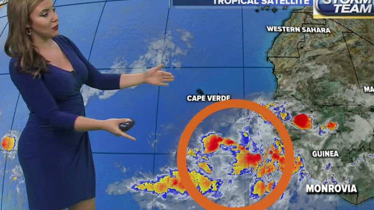 Intense tropical wave near Africa; 60% chance of development