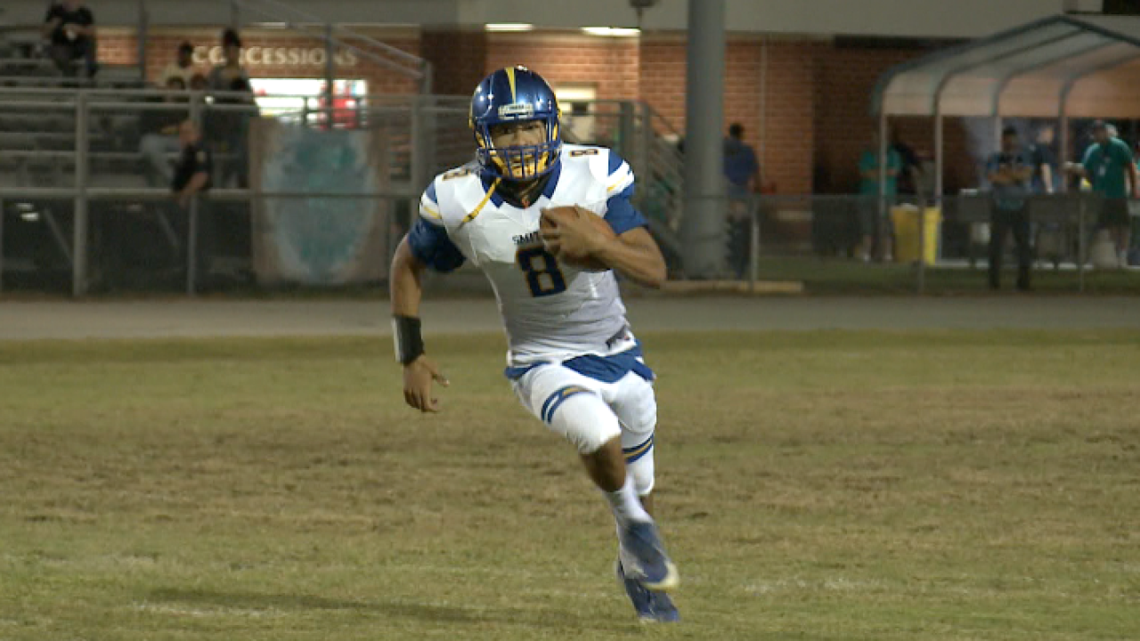 Cam'Ron Kelly, former Oscar Smith High star, cleared to play football for UNC this season