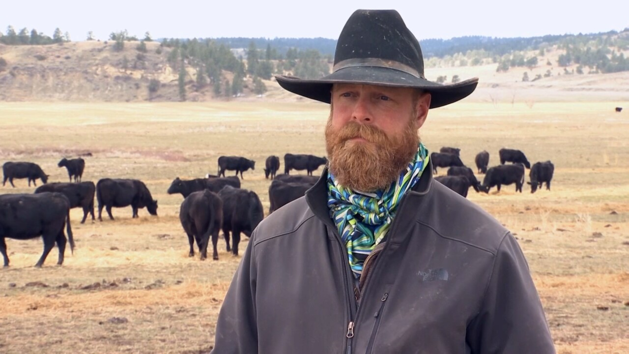 Big Horn rancher Andrew Johnson