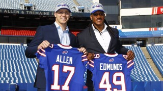 Bills Draft Football
