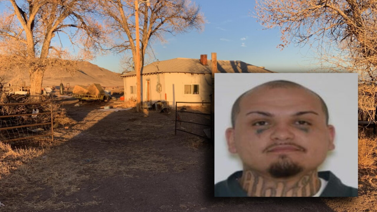 Suspect nicknamed 'Psycho' wanted after remains of 3 people found in Conejos County