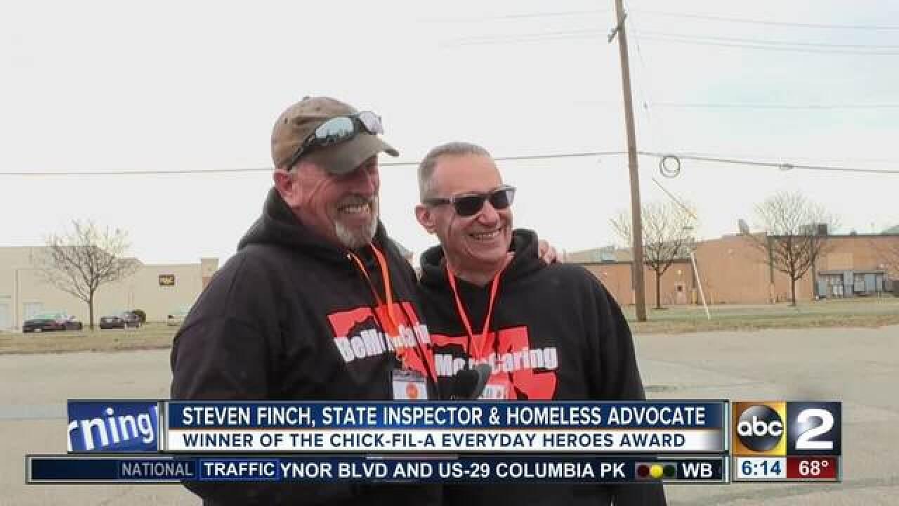 Everyday Heroes Winner: Steven Finch