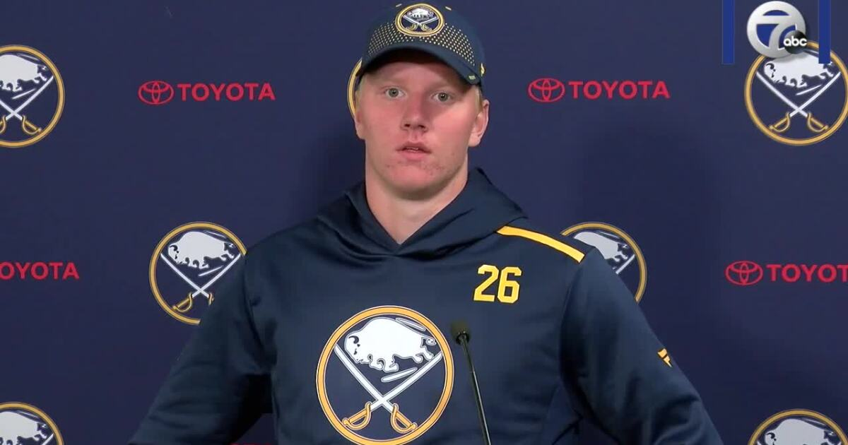 Watch: Sabres reenergized as they report to training camp