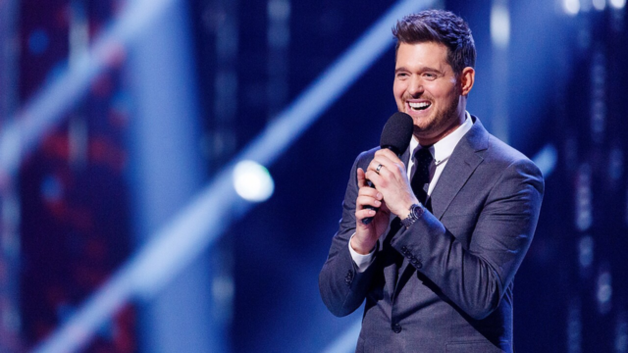Michael Bublé coming to Buffalo