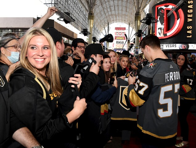 PHOTOS: Vegas Golden Knights in Las Vegas