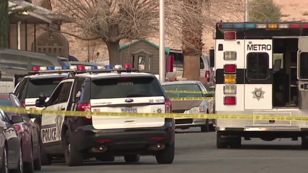 Police find person shot to death near U.S. 95