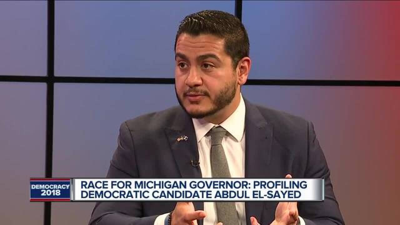One-on-one with Democratic gubernatorial candidate Abdul El-Sayed
