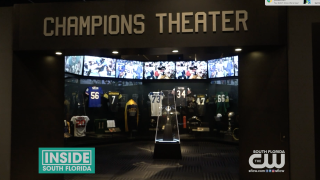 Super Bowl and Dolphins History on Display in Downtown Miami