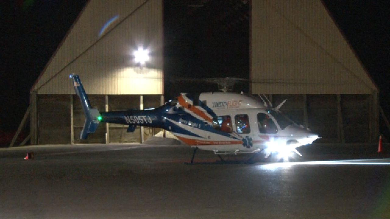 Four new helicopters are joining the Mercy Flight fleet