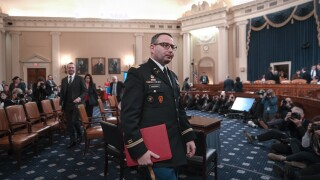 Lt. Col. Vindman, member of Nation Security Council, fired months after impeachment testimony