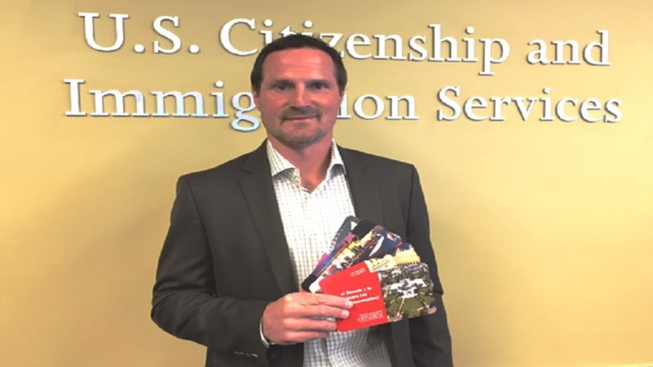 Milan Hejduk becomes a U.S. citizen
