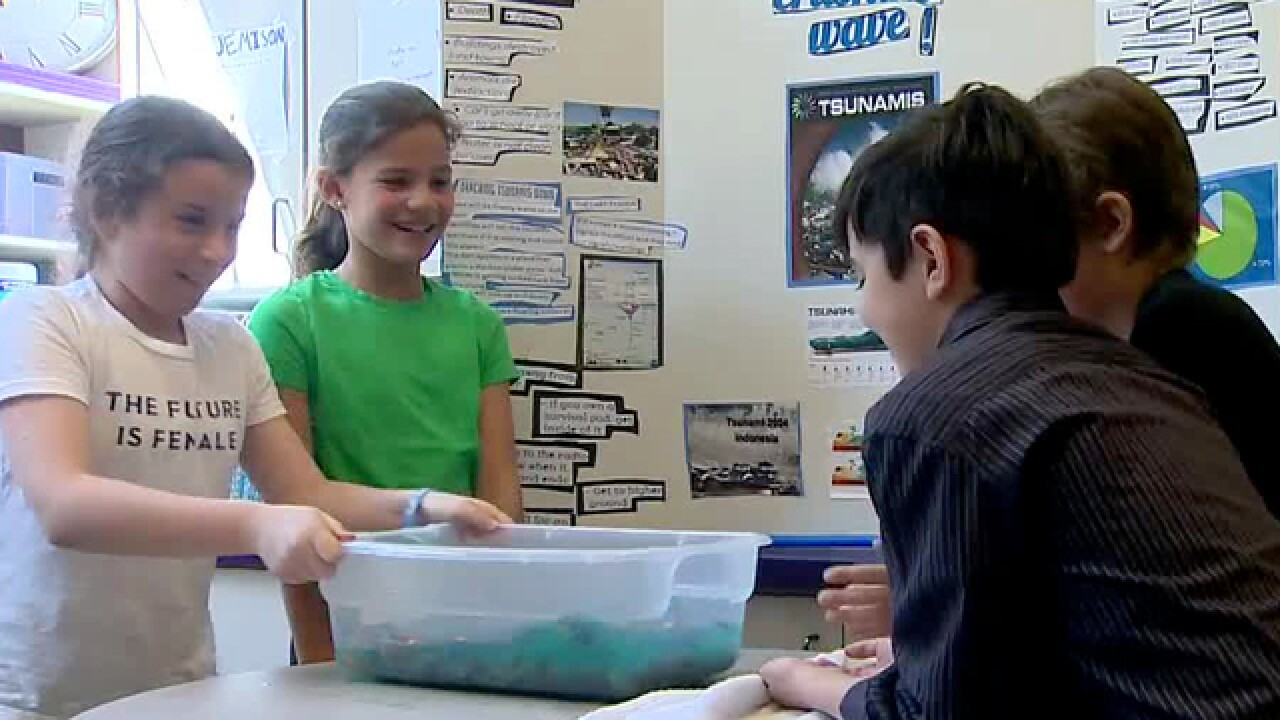 School Patrol: Students Investigate The Weather