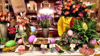 Restaurants and hotels across the country prepare to offer Easter take-out