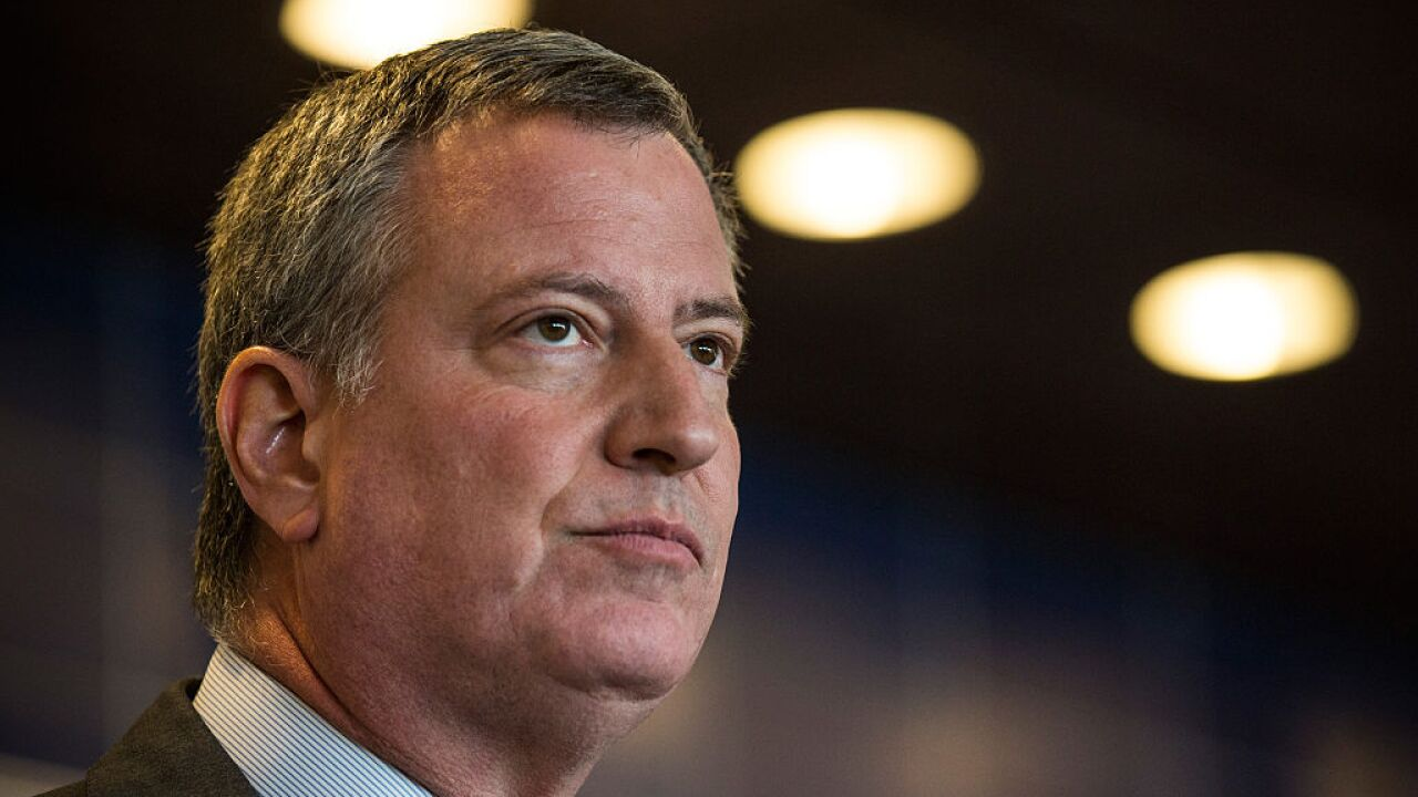De Blasio heads to New Hampshire as he considers a 2020 bid