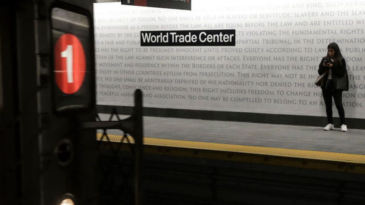 NYC subway station reopens for the first time since 9/11