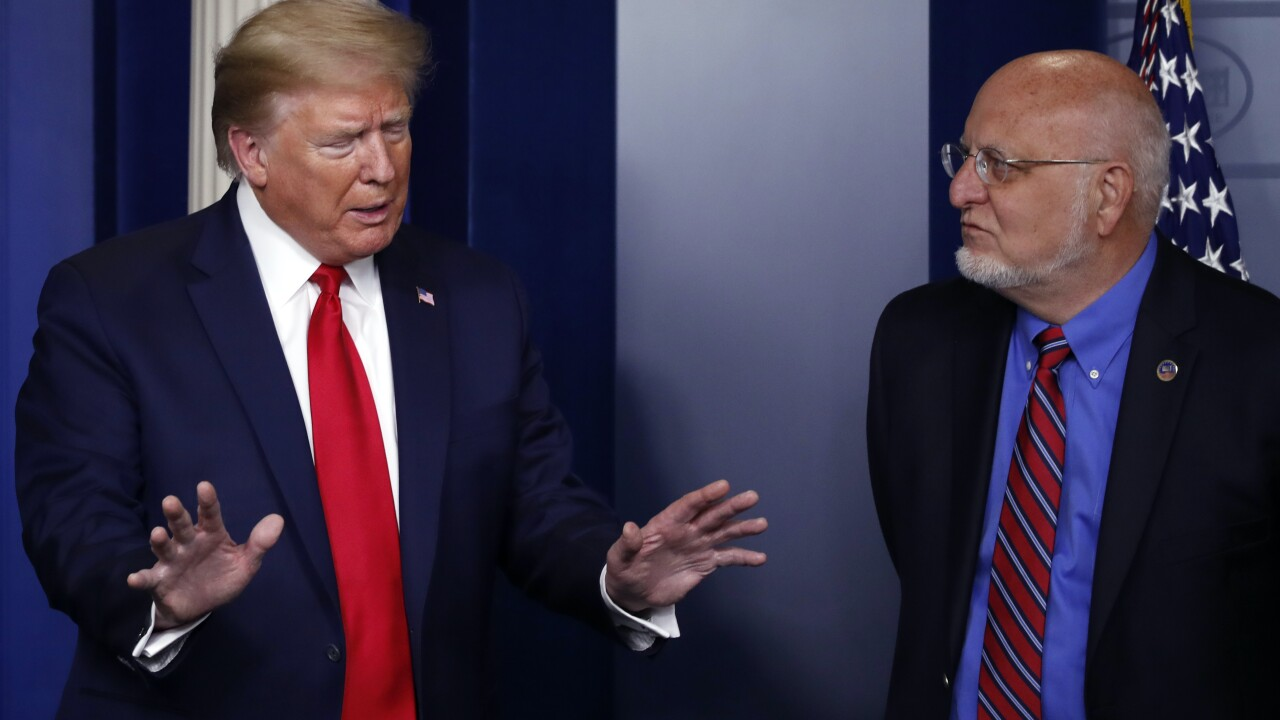 Trump claims CDC head was misquoted about 2nd coronavirus wave