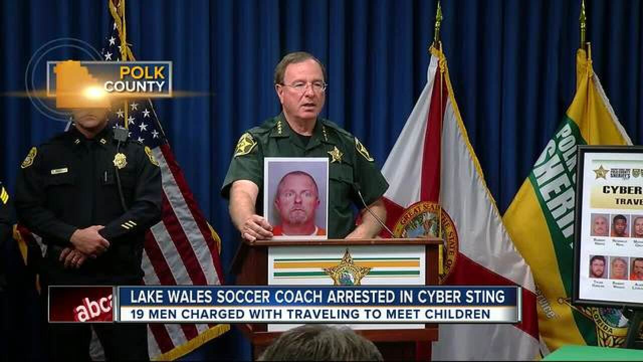 Multiple FL agencies arrest 39 suspects during undercover child sex