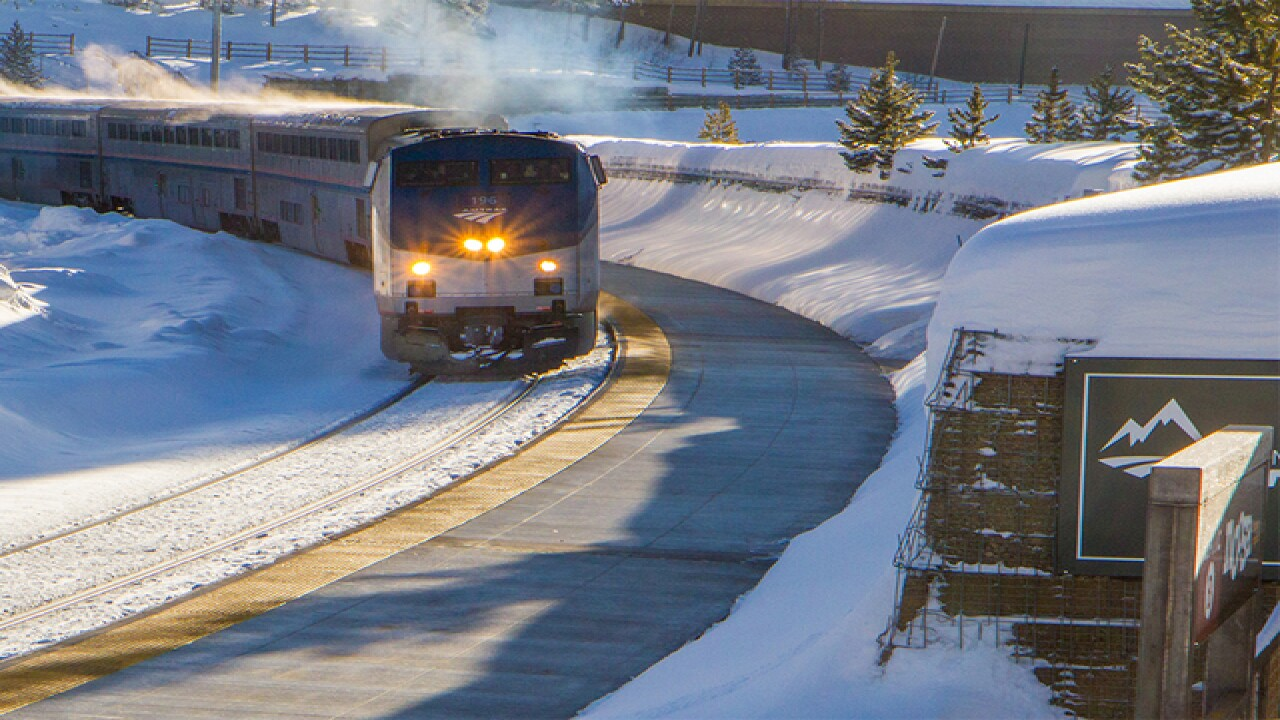 Ski train to Winter Park leaves Union Station