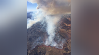 Two planes collide battling fire near Utah-Nevada border; pilots killed