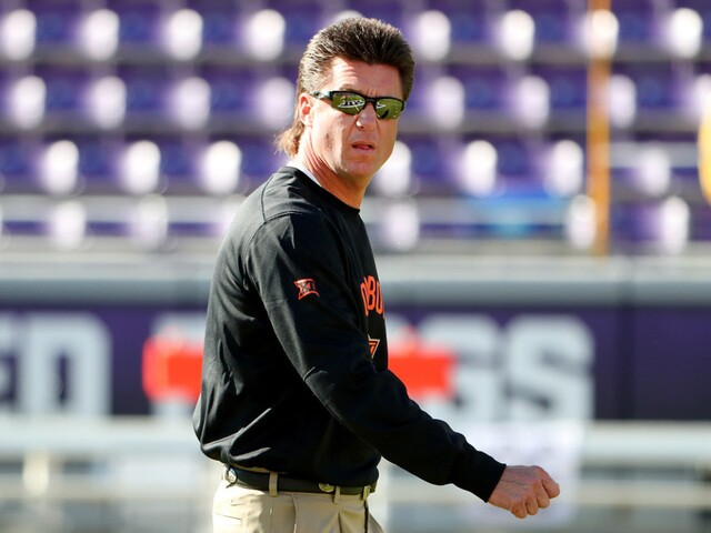 Mike Gundy Mullet Photos Of Osu Cowboys Coach S Hair